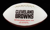 Odell Beckham Jr. Signed Browns Logo Football (JSA COA) at PristineAuction.com