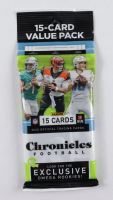 2020 Panini Chronicles Football Cello Pack with (15) Cards at PristineAuction.com