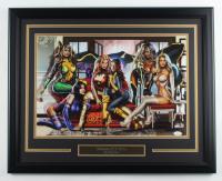 "Greg Horn Signed ""Women of X-Men"" 20.5x25.5 Custom Framed Lithograph (JSA COA) at PristineAuction.com"