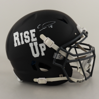 Calvin Ridley Signed Full-Size Authentic On-Field Matte Black Vengeance Helmet (Beckett COA) (See Description) at PristineAuction.com