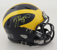 Jabrill Peppers Signed Michigan Wolverines Speed Mini Helmet (JSA COA) at PristineAuction.com