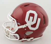 Oklahoma Sooners Heisman Winners Full-Size Authentic On-Field Speed Helmet Signed by (6) with Kyler Murray, Billy Sims, Baker Mayfield, Sam Bradford, Jason White & Steve Owens with Heisman Inscriptions (Beckett COA & JSA ALOA) (See Description) at PristineAuction.com