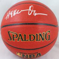 Hakeem Olajuwon Signed NBA Basketball (Beckett Hologram) at PristineAuction.com
