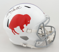 Bruce Smith Signed Bills Full-Size Throwback Speed Helmet (Beckett COA) at PristineAuction.com
