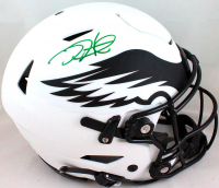 Jalen Hurts Signed Eagles Full-Size Lunar Eclipse Alternate Authentic On-Field SpeedFlex Helmet (PSA Hologram) at PristineAuction.com