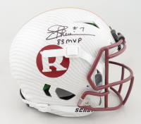 """Joe Theismann Signed Full-Size Authentic On-Field Hydro-Dipped Vengeance Helmet Inscribed """"83 MVP"""" (JSA COA) (See Description) at PristineAuction.com"""