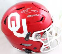 "Kyler Murray Signed Oklahoma Sooners Full-Size Authentic On-Field SpeedFlex Helmet Inscribed ""Heisman 18"" (Beckett Hologram) at PristineAuction.com"