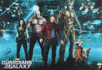 """Stan Lee Signed 17x24 """"Guardians of the Galaxy"""" Movie Poster (JSA COA) at PristineAuction.com"""