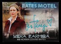 Vera Farmiga 2015 Bates Motel Season One Autographs #15 Vera Farmiga as Norma Louise Bates (JSA COA) at PristineAuction.com