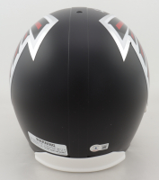 Kyle Pitts Signed Falcons Full-Size Helmet (Beckett Hologram) at PristineAuction.com