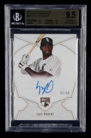 Luis Robert 2020 Topps Definitive Collection Rookie Autographs #RALR EXCH #33/50 (BGS 9.5) at PristineAuction.com