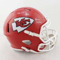 "Dante Hall Signed Chiefs Full-Size Speed Helmet Inscribed ""Human Joystick"" (PSA COA) at PristineAuction.com"