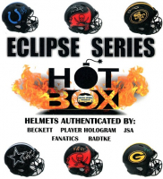 """Hot Box Full Size Football Helmet Mystery Box """"Eclipse Only Series!"""" - Pristine Exclusive #/159 at PristineAuction.com"""