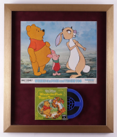 """Vintage Disney's """"Winnie the Pooh and Tigger Too"""" 18x21 Custom Framed Film Reel Display with Original 1974 Movie Poster at PristineAuction.com"""