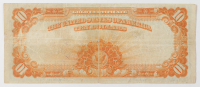 1922 $10 Ten-Dollar U.S. Gold Certificate Large-Size Bank Note at PristineAuction.com