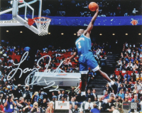 Larry Johnson Signed Knicks 8x10 Photo (TriStar Hologram) at PristineAuction.com