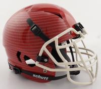 Christian Okoye Signed Full-Size Authentic On-Field Hydro-Dipped Vengeance Helmet (PSA COA) at PristineAuction.com