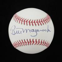 Bill Mazeroski Signed OML Baseball (JSA COA) at PristineAuction.com