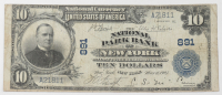 1902 $10 Ten-Dollar U.S. National Currency Large-Size Bank Note - The National Park Bank of New York City, New York at PristineAuction.com