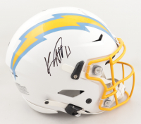 Keenan Allen Signed Chargers Full-Size Authentic On-Field SpeedFlex Helmet (JSA COA) at PristineAuction.com