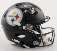 T. J. Watt Signed Steelers Full-Size Authentic On-Field SpeedFlex Helmet (Beckett COA) at PristineAuction.com