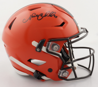 Nick Chubb Signed Browns Full-Size Authentic On-Field SpeedFlex Helmet (Beckett COA) at PristineAuction.com