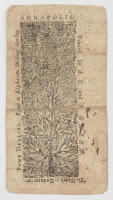 1774 $4 Four Dollars - Maryland - Colonial Currency Note at PristineAuction.com