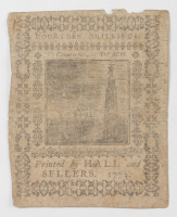 1773 14s. Fourteen Shillings - Pennsylvania - Colonial Currency Note at PristineAuction.com