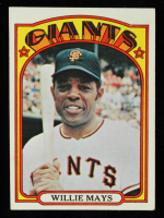 Willie Mays 1972 Topps #49 at PristineAuction.com