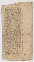 1774 $2 Two Dollars - Maryland - Colonial Currency Note at PristineAuction.com
