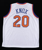 Kevin Knox Signed Jersey (JSA COA) at PristineAuction.com