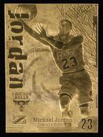 Michael Jordan Fleer 1998 23kt Gold Card at PristineAuction.com