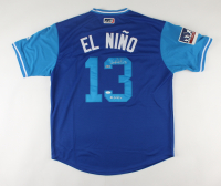 """Salvador Perez Signed Royals Jersey Inscribed """"El Nino"""" (JSA COA) at PristineAuction.com"""