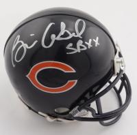 "Brian Cabral Signed Bears Mini Helmet Inscribed ""SBXX"" (Beckett COA) at PristineAuction.com"