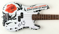Red Hot Chili Peppers Set of (4) Full-Size Electric Guitars signed by Flea, Anthony Kiedis, John Frusciante & Chad Smith (JSA COA & PSA COA) at PristineAuction.com