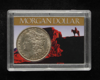 1898 Morgan Silver Dollar With Display Case at PristineAuction.com