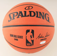 Luka Doncic Signed NBA Game Ball Series Basketball (PSA LOA) at PristineAuction.com