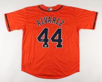 Yordan Alvarez Signed Astros Jersey (JSA COA) at PristineAuction.com