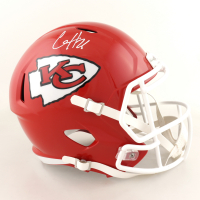 Clyde Edwards-Helaire Signed Chiefs Full-Size Speed Helmet (Beckett Hologram) at PristineAuction.com