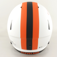 Nick Chubb Signed Browns Full-Size Lunar Eclipse Alternate Speed Helmet (Beckett COA) at PristineAuction.com
