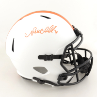 Nick Chubb Signed Browns Full-Size Lunar Eclipse Alternate Speed Helmet (Beckett COA) (See Description) at PristineAuction.com