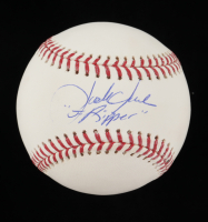 "Jack Clark Signed OML Baseball Inscribed ""The Ripper"" (JSA COA) at PristineAuction.com"
