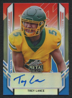 Trey Lance 2021 Leaf Metal Draft Red White and Blue #PATL2 Autograph RC #10/10 at PristineAuction.com