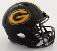 Davante Adams Signed Packers Full-Size Eclipse Alternate Speed Helmet (JSA COA) (See Description) at PristineAuction.com