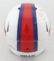 Gabriel Davis Signed Bills Full-Size Speed Helmet (JSA COA) (See Description) at PristineAuction.com