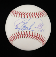 "Barry Larkin Signed OML Baseball Inscribed ""HOF 2012"" (Beckett COA) at PristineAuction.com"