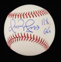 "Omar Vizquel Signed OML Baseball Inscribed ""11x GG"" (Beckett COA) at PristineAuction.com"