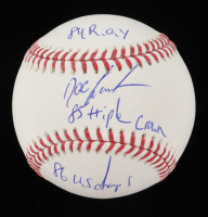 """Dwight """"Doc"""" Gooden Signed OML Baseball With Multiple Inscriptions (JSA COA) at PristineAuction.com"""