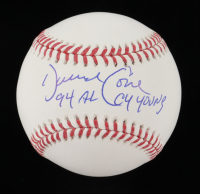 """Dave Cone Signed OML Baseball Inscribed 94 AL Cy Young"""" (JSA COA) at PristineAuction.com"""