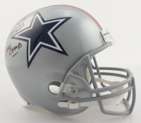 """Drew Pearson Signed Cowboys Full-Size Helmet Inscribed """"SBXII Champs"""" & """"Americas Team"""" (Beckett COA) at PristineAuction.com"""